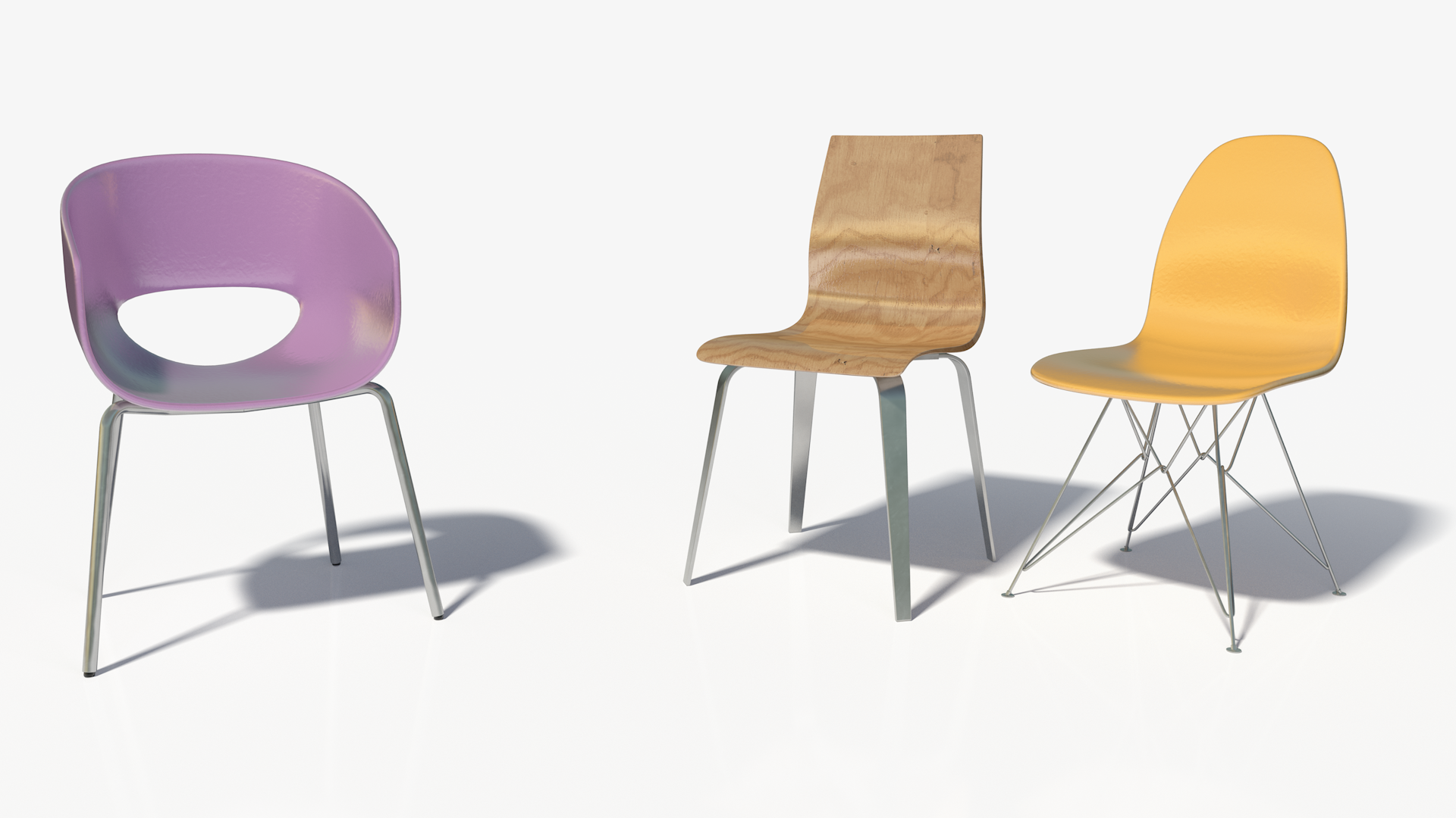 3D Modern Chairs