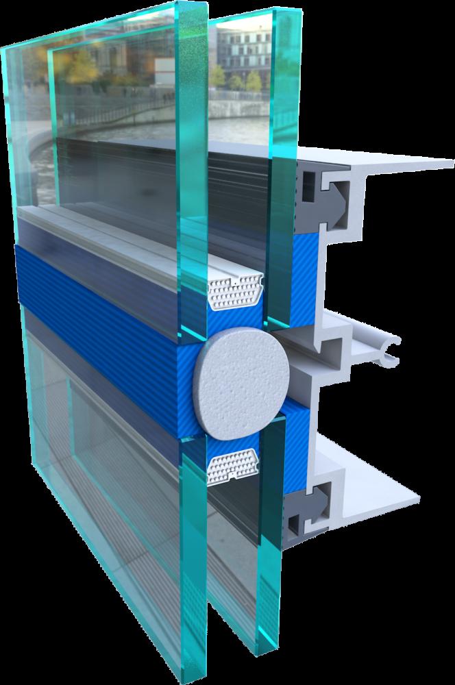 GE Window Sealant 3D Cutaway