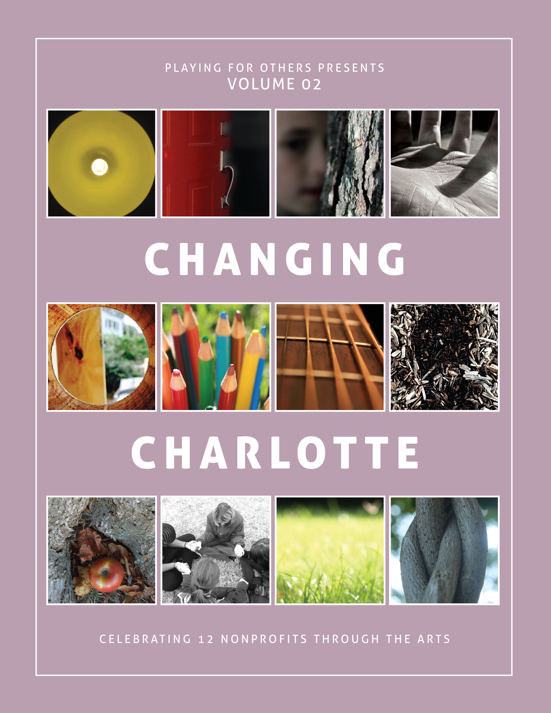 Playing for Other, Changing Charlotte, Book cover design